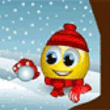 Risultati immagini per emoticon and snow