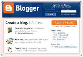 Create Your Own Blog How To Blog Using Blogger Web2 Be A Creator A Collaborator