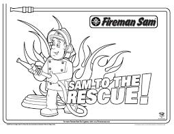 15 Best Fireman Sam Color Pages Karen Coloring Page