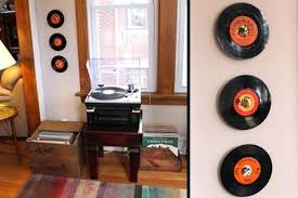 vinyl records wall display vinyl records used as frames for wall art free craft project tutorial vinyl records wall  on wall art using vinyl records with vinyl records wall display vinyl record wall mount display