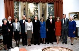 filethe reagan library oval office. Mrs Johnson President And. George Hw Bush Oval Office Filethe Reagan Library