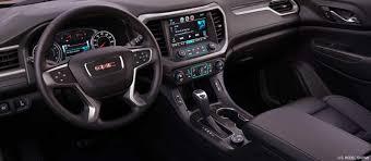 gmc acadia interior. Contemporary Interior Interior Of The 2018 GMC Acadia Midsize SUV To Gmc R