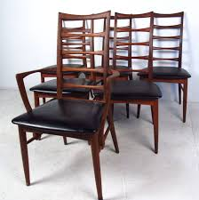 set of ladder back dining chairs by koefoeds hornslet for at img 5