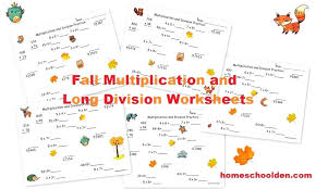 Free Basic Division Worksheets Long Grade Easy With
