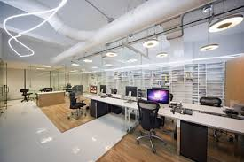 industrial design office. byronmuller office design by darkitectura cubicles seperated glass industrial i