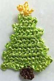 Free Crochet Christmas Tree Patterns Beauteous Raffia Christmas Tree Ornament Free Crochet Pattern