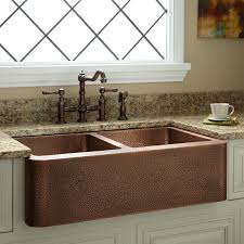 hammered copper farmhouse sink. 35\ Hammered Copper Farmhouse Sink 4