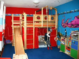 bunk bed with slide for girls. Bed With Slide Double Bunk Loft Diy . For Girls O