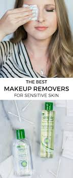 the best makeup removers for sensitive skin how to remove your makeup even waterproof mascara and lash glue without irritating your skin by beauty