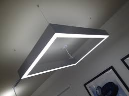linear suspended lighting. Led Lighting Hanging Fixtures Linear Suspended D