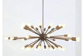 sputnik ceiling light ribbon