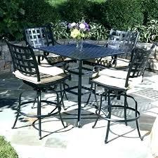 bar height breakfast table patio furniture bistro set impressive sets 5 piece furni