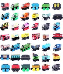 thomas the train toys and his friends lot new anime wooden railway trains toy model great