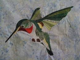 92 best David Taylor/. Quilts images on Pinterest   Embroidery ... & Hummingbird quilt (pattern by David Taylor) Adamdwight.com