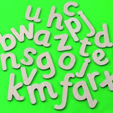 wooden alphabet letters 26pk tts