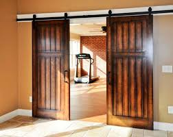 image of diy interior sliding barn doors
