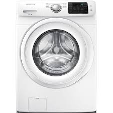 Samsung 4.2-cu ft High-Efficiency Stackable Front-Load Washer (White)