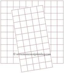 Free Graph Paper Half Inch Printable Montessori Math Graph