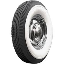 Coker Tire 682310 Firestone 4 1 2 Inch Whitewall Bias Ply 7 50 16