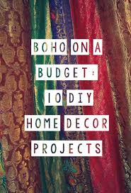 Home Decor  Fresh Diy Boho Home Decor Home Style Tips Cool At Diy Boho Chic Home Decor