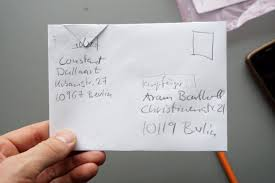 Post Hack Or How To Send A Letter For Free Aram Bartholl