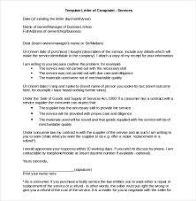 Complain Business Letter 10 Business Complaint Letter Templates Pdf Doc Free