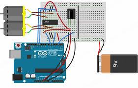 controlling dc motors using ir remote circuit diagram