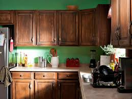 before this kitchen s ambiance was dated by its swirling brown laminate countertops