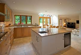 Perfect A Simple, Airy Kitchen In Light Wood And Granite With A Large Square Island  That Good Looking