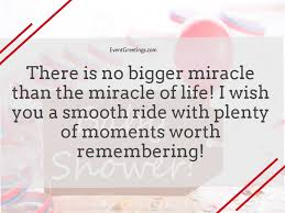 Miracle Baby Quotes Mesmerizing Baby Shower Quotes And Messages Events Greetings