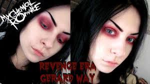 revenge era gerard way makeup tutorial