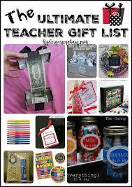 the ultimate teacher gift list kindergartenchaos