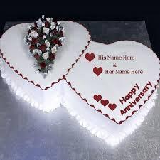 Tcw007 Anniversary Cake Thecakeworldin