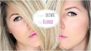 Bruin Haar Blond Verven Tips Back2beauty