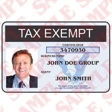 – Maxarmory Card Exemption Id Tax