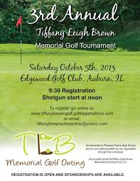 Memorial Fundraiser Flyer Modern Professional School Flyer Design For The Tiffany Leigh