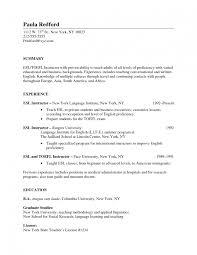 Esl Teacher Resume Example Sample Esl Teacher Resume Sample Free Danayaus 19