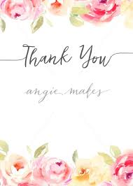 Blank Thank You Notes Thank You Card Flowers Magdalene Project Org