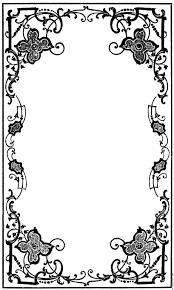 Border Designs For Wedding Programs Victorian Book Decoration Google Search Vintage Book