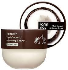 <b>Многофункциональный крем с</b> кокосом FarmStay Real Coconut All ...