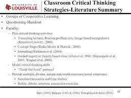 Honing Critical Thinking Skills SlideShare