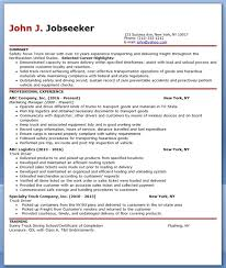 Truck Driver Resume Sample | Creative Resume Design Templates Word ...