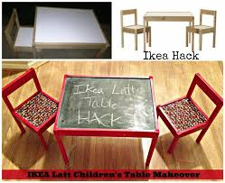 image of ikea childrens table and chair sets