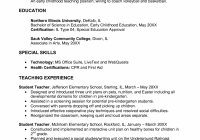 Objective For Education Resume Teacher Resume Objective Example Resume Templates Design For Job