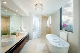 recessed lighting placement bathroom contemporary with double vanity chrome towel rings