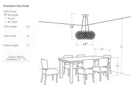chandelier size for room chandelier size for dining room dining room chandelier height the