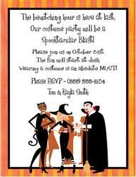 costume party invites costume party invitation would be cute for a halloween party fall