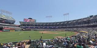 Ringcentral Coliseum Section 129 Oakland Athletics