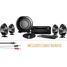 kef kht3005se. discontinued onkyo txnr616 home cinema receiver with panasonic dmpbdt320 blu-ray player, kef kht3005se speaker package and cable bundle system kef kht3005se 0