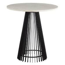 modern end tables modern accent tables  side tables  zinc door